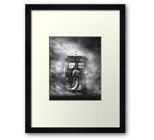 Doctor Who- the Doctor and the Mist Framed Print