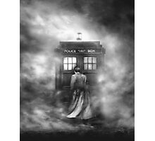Doctor Who- the Doctor and the Mist Photographic Print