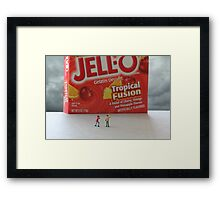 Jello shot Framed Print