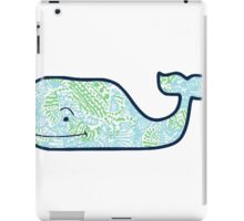 Vineyard Vines Whale Lilly Print 4 iPad Case/Skin