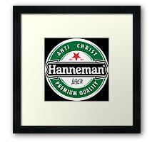 Jeff Hanneman - Heineken Framed Print