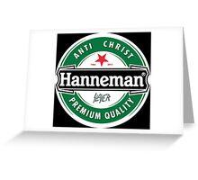 Jeff Hanneman - Heineken Greeting Card