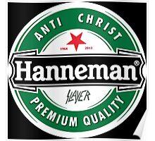 Jeff Hanneman - Heineken Poster