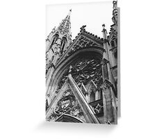 Saint Patrick's Cathedral  Greeting Card