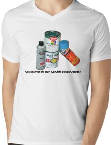 WEAPONS OF MASS CREATION Mens V-Neck T-Shirt