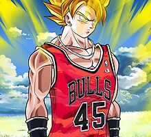 Goku for the Bulls by DOPEFLVR