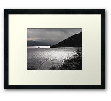 Stormy-Ness Framed Print
