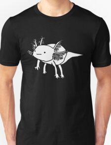 cute happy floaty axolotol print Unisex T-Shirt