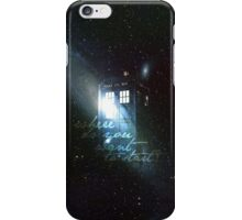 doctor who - tardis & galaxy iPhone Case/Skin