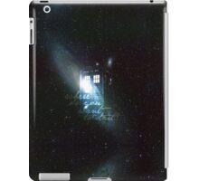 doctor who - tardis & galaxy iPad Case/Skin