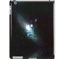 doctor who - tardis & galaxy iPad Case/Skin
