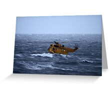 Rescue Operation Greeting Card