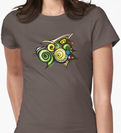 D110301 in Colour Womens Fitted T-Shirt