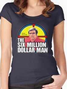 Six Million Dollar Man Women's Fitted Scoop T-Shirt