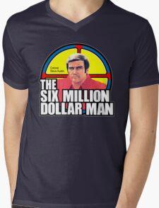 Six Million Dollar Man Mens V-Neck T-Shirt
