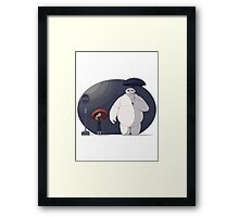 Big Hero 6 Totoro Framed Print