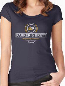 Parker & Brett Women's Fitted Scoop T-Shirt