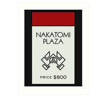 Nakatomi Plaza - Property Card Art Print