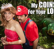 SexyMario MEME - My Coins For Your Loins 1 by SexyMario