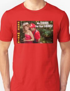 SexyMario MEME - My Coins For Your Loins 1 Unisex T-Shirt