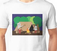 Cats Camping Unisex T-Shirt