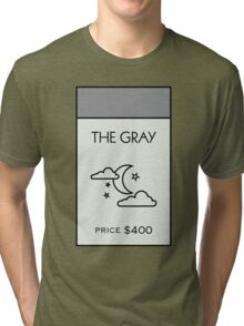 The Gray - Property Card Tri-blend T-Shirt