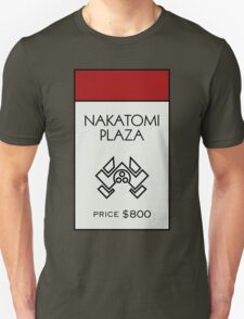 Nakatomi Plaza - Property Card T-Shirt