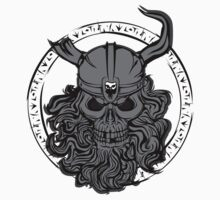 Viking Skull Kids Clothes