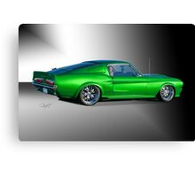 1968 Ford Mustang Fastback III Canvas Print