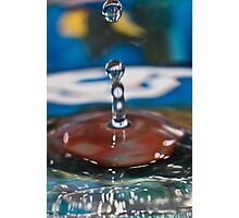 Drops 8 Photographic Print
