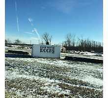 Fort Wayne Rocks Photographic Print
