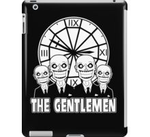 The Gentlemen Logo iPad Case/Skin