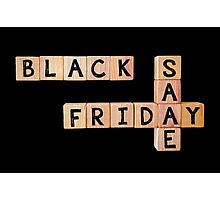 Black Friday Sale Photographic Print