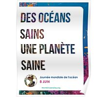 French Style 1 - World Oceans Day poster Poster