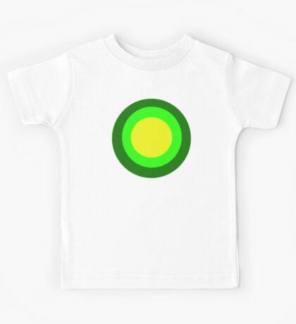 Green circles Kids Tee