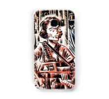 Ripley and the Alien Art Print. Aliens, Sigourney Weaver, Joe Badon, Ridley Scott, James Cameron, Drawing, illustration, sci fi, horror Samsung Galaxy Case/Skin