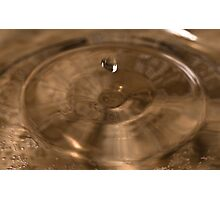 Drops 12 Photographic Print