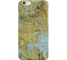 Antique Yellowstone Map iPhone Case/Skin