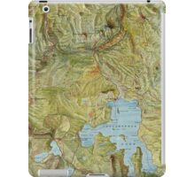 Antique Yellowstone Map iPad Case/Skin