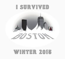 I Survived Boston Winter 2015 (Color) Kids Clothes