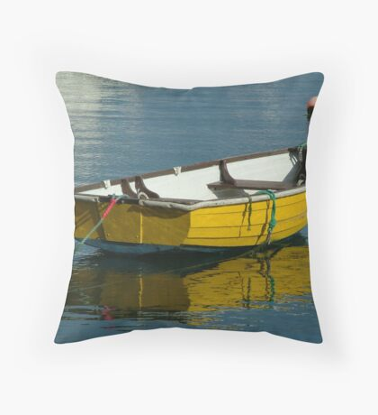 Small Boat Throw Pillow