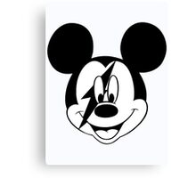 Mickey Rock & Roll Canvas Print