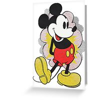 Mickey Vintage Greeting Card