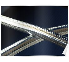Flexible metal hose Poster