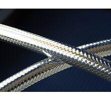 Flexible metal hose Photographic Print