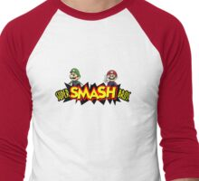 The Super Smash Brothers Men's Baseball ¾ T-Shirt