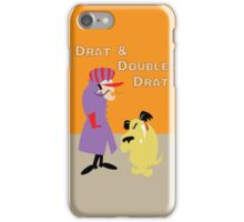 Drat & Double Drat iPhone Case/Skin