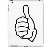 Thumbs up iPad Case/Skin