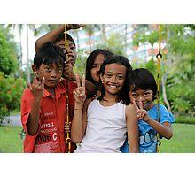 Kids of Bali -3- Photographic Print