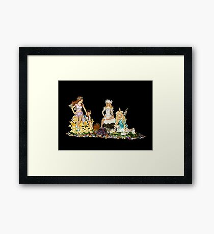 The Fey Princess Framed Print